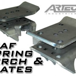 Artec Industries Leaf Spring Perch And Plates Pair