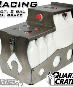 Artec Industries Racing Quart Crate 6 Qts Brake P/S 2 Gallons