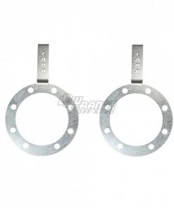 Toyota Backing Plate Eliminator with Brake Line Holder Pair 79-85 Toyota Solid Axle Hilux Pickups Low Range Off Road