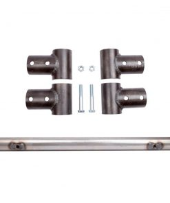 2007 and Up Toyota Tundra CrewMax Pack Rack Accessory Bar Pair 1 No Mount and 1 Hi-Lift All Pro Off Road