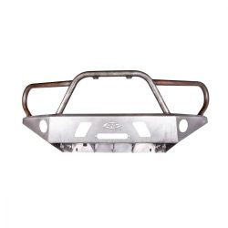 05-15 Toyota Tacoma APEX Steel Front Bumper with Full Hoop Black Powdercoat All Pro Off Road
