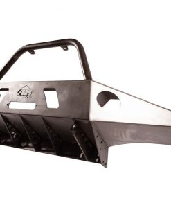 05-15 Toyota Tacoma APEX Steel Front Bumper with Center Hoop Black Powdercoat All Pro Off Road