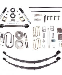 86-95 Toyota Solid Axle Swap SAS Kit 4.0 Inch Front Long Travel Springs All Pro Off Road