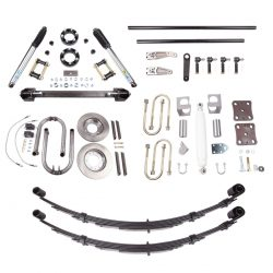 86-95 Toyota Solid Axle Swap SAS Kit 5.0 Inch Front Long Travel Springs All Pro Off Road