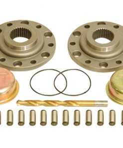 Drive Flange Kit With Dowel Pins Drill Bit And Dust Shield For 79-85 Pickup and 4Runner Trail Gear