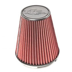 Rock Ripper Air Filter 8.8 Inch Gray/Red Trail Gear