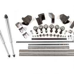 High Steer Trail Link Three Front 3-Link Kit With 14 Inch Air Shocks OEM Trail Gear
