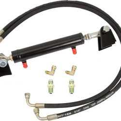 Hydro Assist Ram Kit 1.5 Inch X 8 Inch Rock Assault Front Housing For 79-95 Pickup 85-95 4Runner Trail Gear