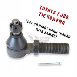 FJ-80 Tie Rod End Right Hand Thread Tie Rod End and Jam Nut Low Range Off Road